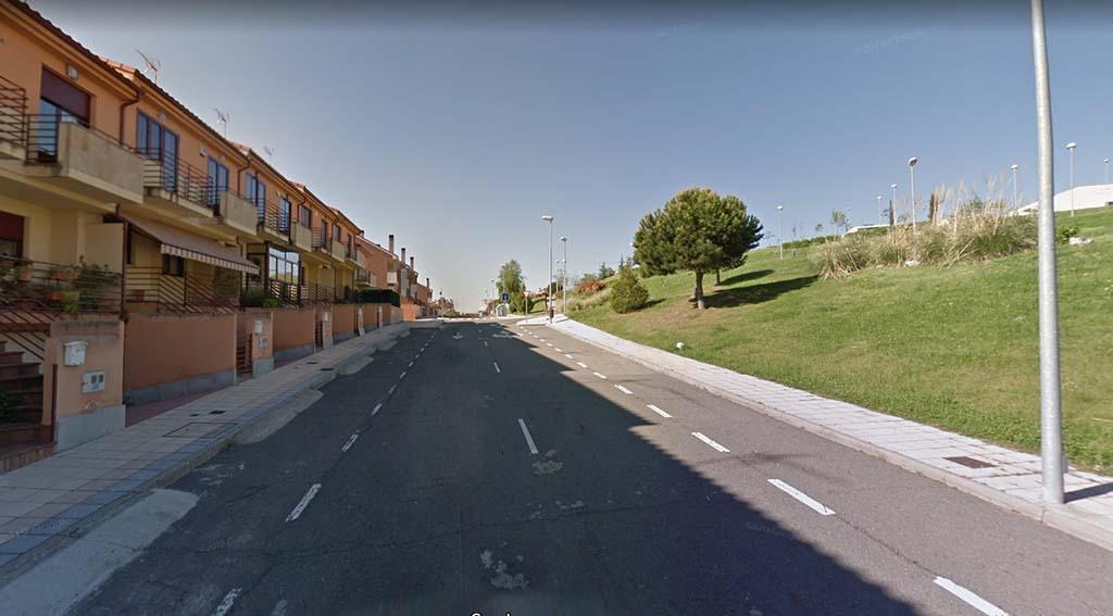 Calle Matilde Cherner, en el barrio de Vistahermosa, Salamanca.