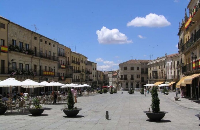 ciudad rodrigo plaza mayor