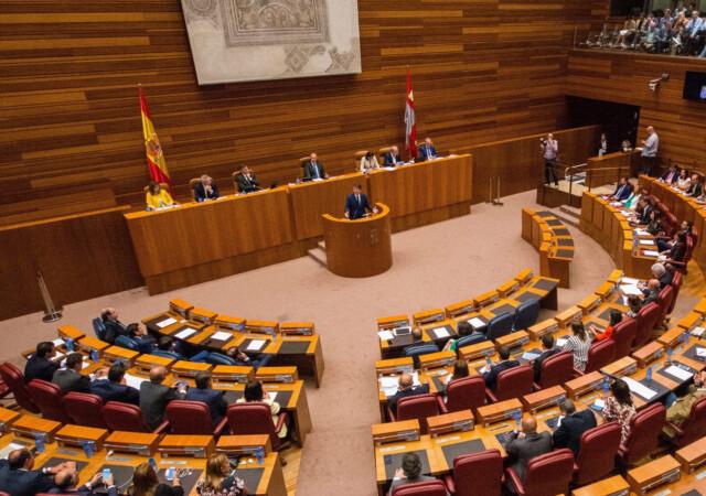 Cortes de Castilla y León.