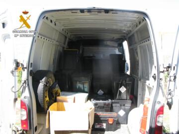 La Guardia Civil de Salamanca investiga a una empresa responsable del transporte de residuos de COVID-19 por incumplir la normativa