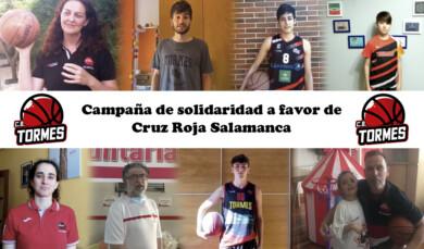 El CB Tormes y Cruz Roja Salamanca unen sus fuerzas para ayudar a los más necesitados