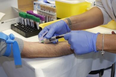 enfermera, análisis sangre, salamanca