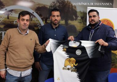 Los tres hombres de Unionistas, Hernansanz, Herán Pérez y Sandoval.