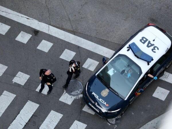 Dos policías nacionales.