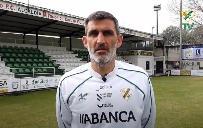 Jacobo Montes, entrenador del Guijuelo.