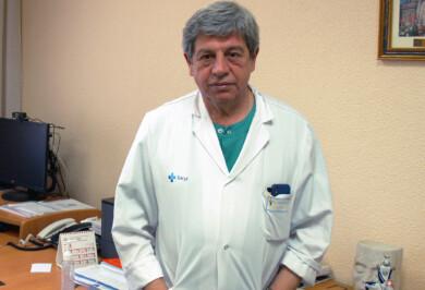 Juan Jesús Cruz, jefe de Oncología del hospital de Salamanca.