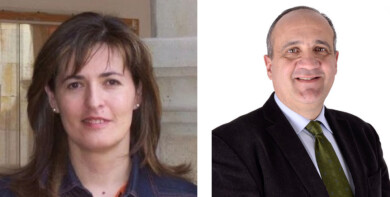 Mª José Rodríguez y Nicolás Rodríguez refuerzan el equipo de Gobierno de la Universidad.