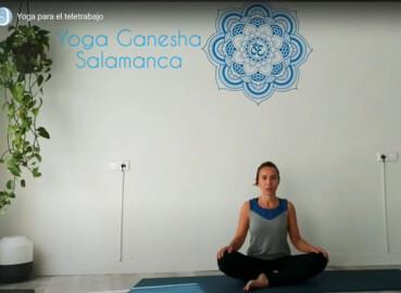 Marta Corrionero, maestra de yoga de Ganesha Salamanca.