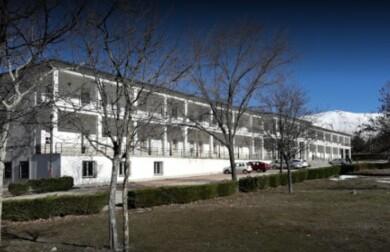 Residencia de Llano Alto, en Béjar.