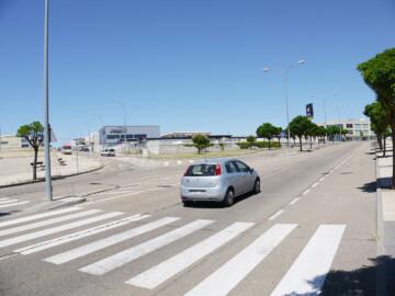 Carbajosa de la Sagrada tendrá una nueva rotonda entre la avenida de Salamanca y el Montalvo II.