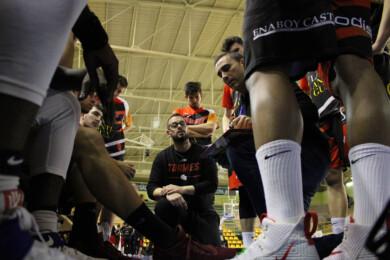 Oscar Nuñez, entrenador de CB Tormes.