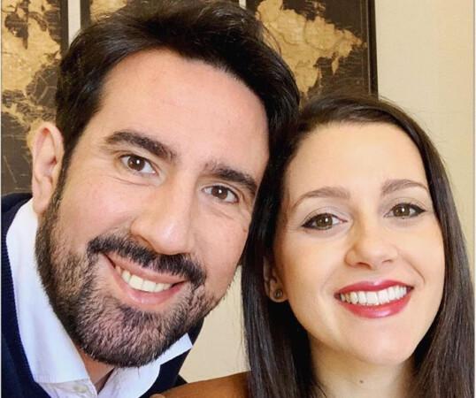 Xavier Cima, marido de Inés Arrimadas. Foto. Instagram