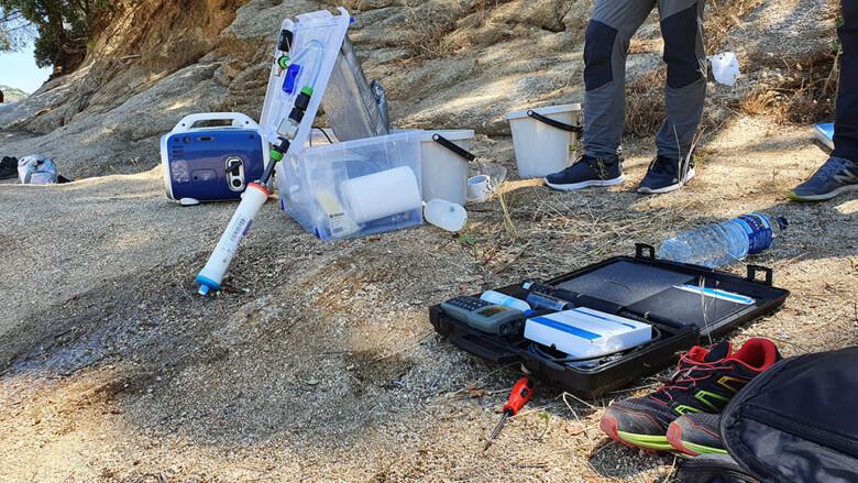 ICAL. Toma de muestras en depuradoras de aguas residuales