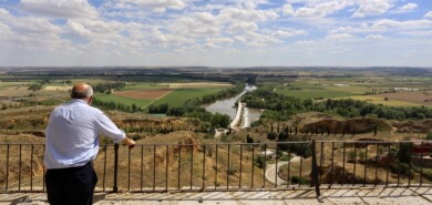 ICAL. Francisco Igea, en su visita a Toro, Zamora.