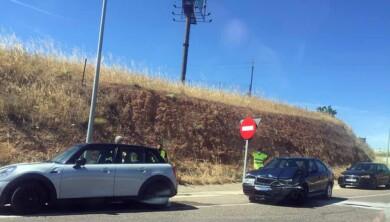 accidente trafico rotonda helmantico (2)