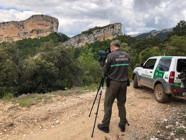 Agentes ambientales de Castilla y León.