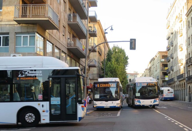 autobus municipal gran via