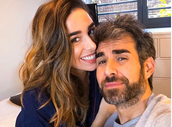 Candela Serrat y Daniel Muriel. Foto. Instagram.