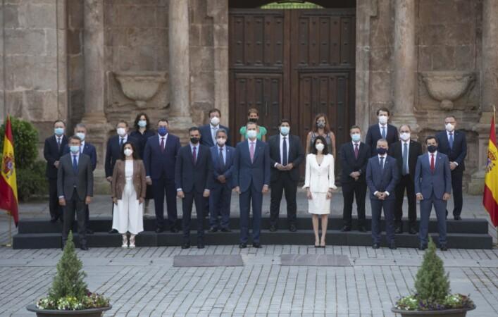 conferencia presidentes pedro sanchez rey felipe
