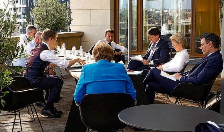 consejo europeo ue pedro sanchez merkel macron