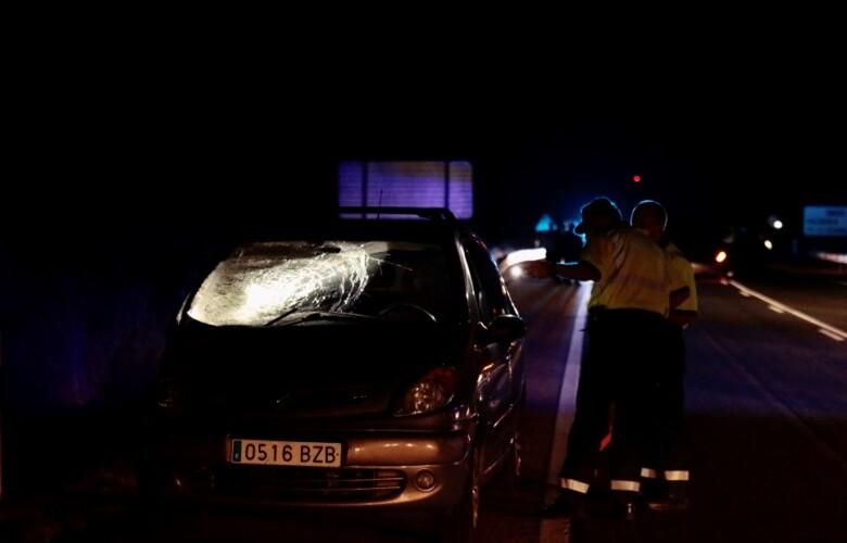 David Arranz ICAL . Tres mujeres fallecen en un atropello en la N-620 en el término municipal de Pedrosillo el ralo (2)