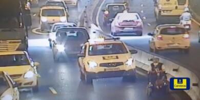 Las carreteras de Gran Canaria han sido testigo de un particular y peligroso incidente.