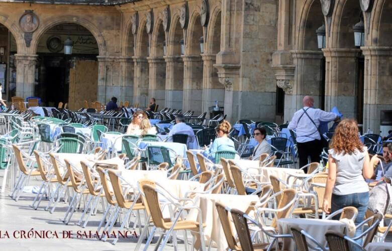 empleo trabajo plaza mayor terraza