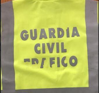 guardia civil chaleco trafico