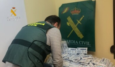 guardia civil mascarillas sin homologar 2
