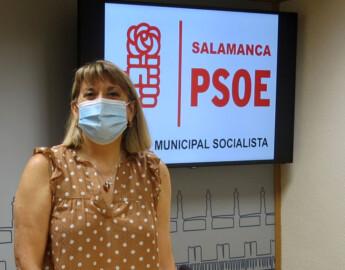 María García, concejala Socialista del Ayuntamiento de Salamanca.