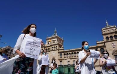 medicos unidos protesta ical