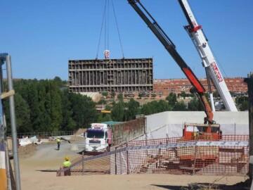 obras vial hospital 6 julio 2020