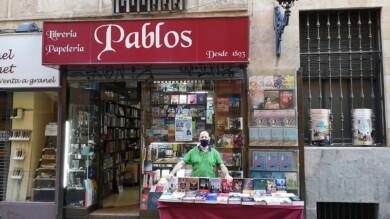 Las librerías han salido a la calle para celebrar el Día del Libro este 23 de julio.