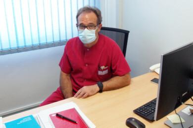 Rafael Borrás, jefe del Servicio de Urgencias del Complejo Hospitalario de Salamanca.