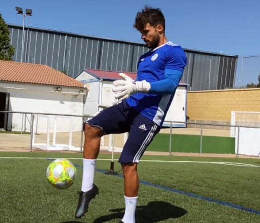 Rodrigo Pérez Romo, ex portero del Salamanca CF UDS.