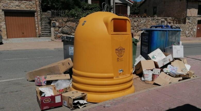 sequeros contendores reciclaje