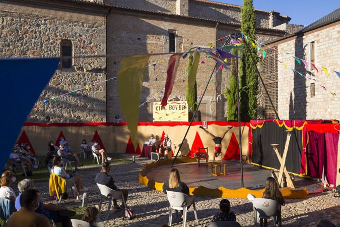 Ricardo Muñoz. ICAL. El Festival internacional Cir&Co de Ávila.