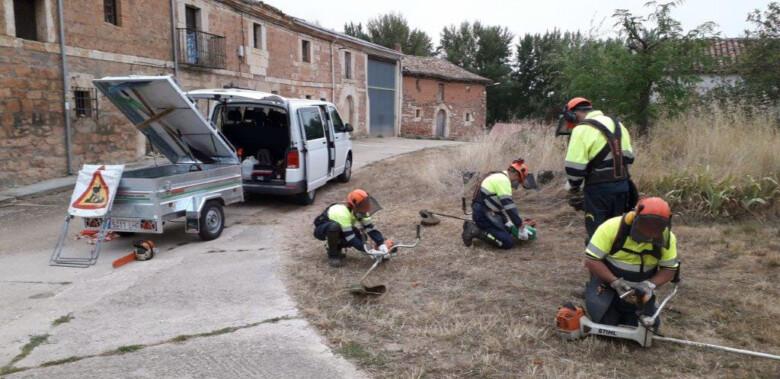 ICAL. Personal contratado para la prevención de incendios forestales en Castilla y León.