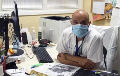 ICAL. David González Parra, psiquiatra y coordinador de la Unidad de Trastornos de la Conducta Alimentaria del Complejo Asistencial de Salamanca