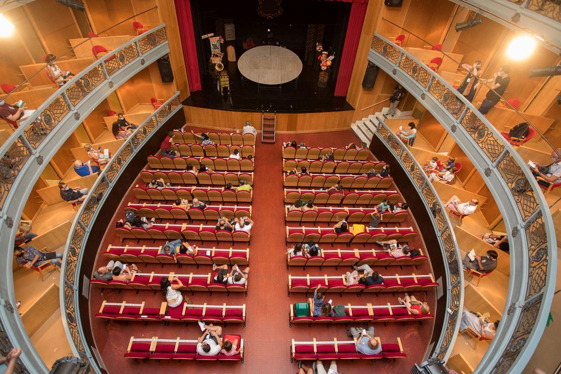 Isa Vicente/ICAL.  La XXIII Feria de Teatro de Castilla y León, en Ciudad Rodrigo.