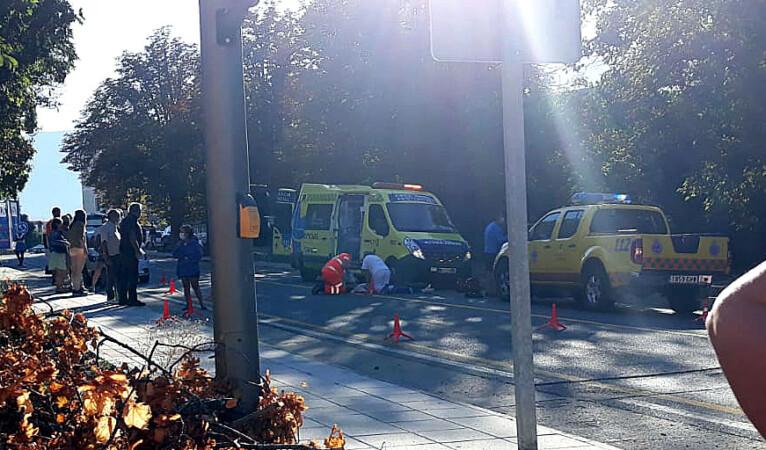 ICAL. El personal sanitario intentando reanimar a la mujer apuñalada en La Granja de San Ildefonso.