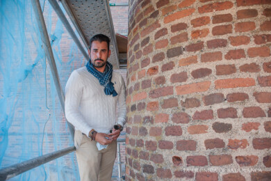 Sergio Calabrés, de Ingenieros Calabrés Tomé, impulsores de darle una nueva vida a la Fábrica de Colas del Camino de la Aguas.