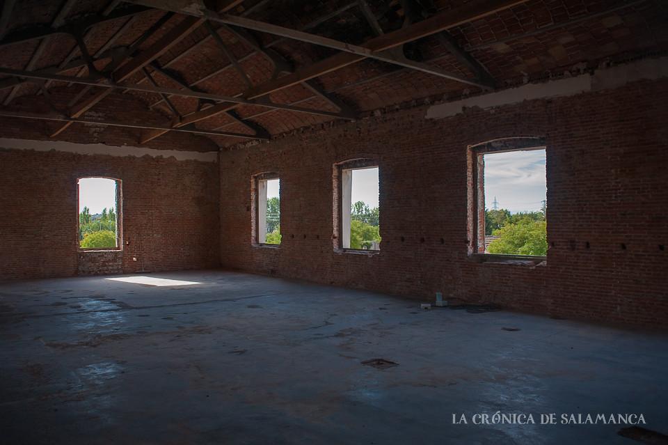 La primera planta de la Fábrica de Colas del Camino de las Aguas.