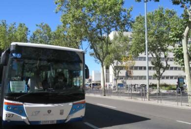 autobus plastico protector coronavirus