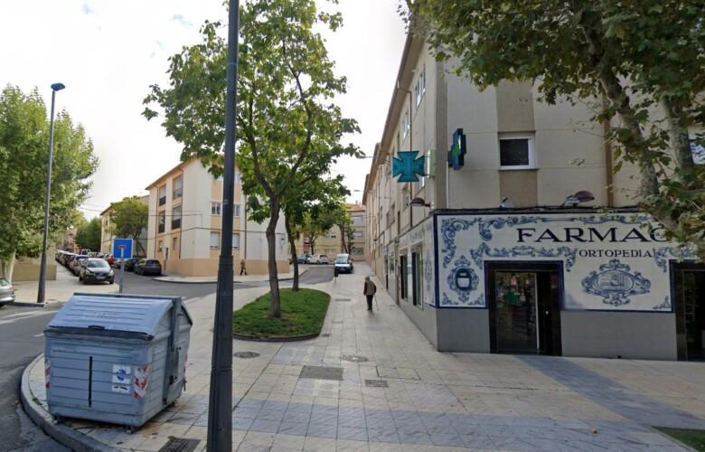 bloques de viviendas en barrio vidal