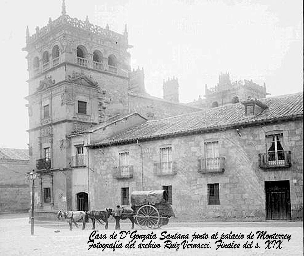 Casa de Gonzala Santa. Fotografía de archivo Ruiz Vernacci. Finales siglo XIX.