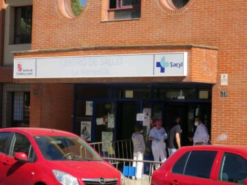 centro salud alamedilla control acceso pandemia coronavirus