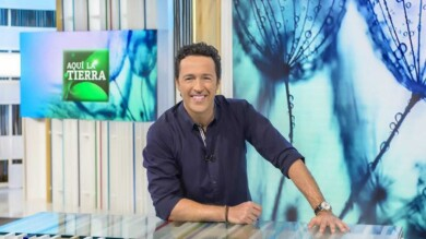 Jacob Petrus, el presentador de Aquí la Tierra.