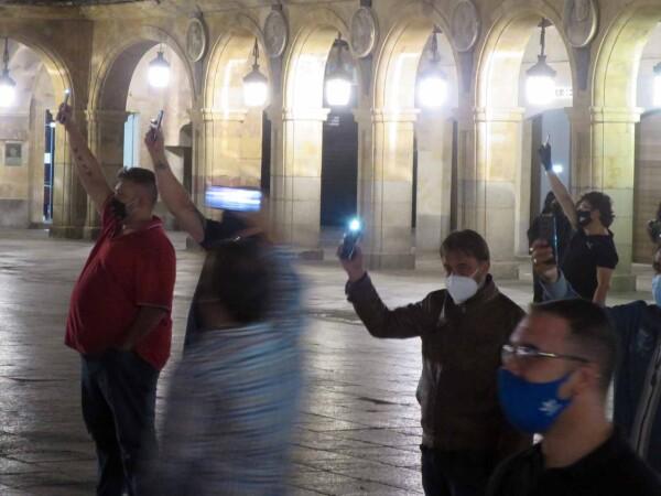 fernando castaño protesta hosteleros
