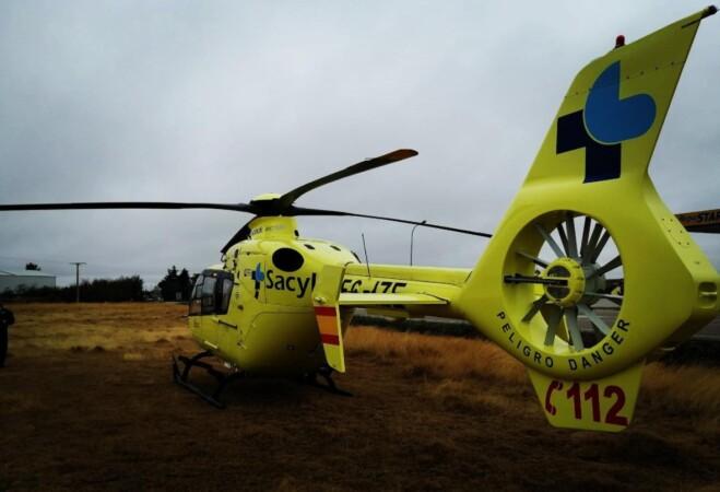 helicoptero sacyl villar peralonso
